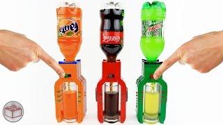 How to Build Mini LEGO Soda Dispensers (Coca-Cola, Mountain Dew, Fanta)