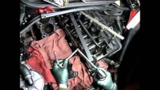 Новая резьба под болт блока цилиндров двигателя M54B25