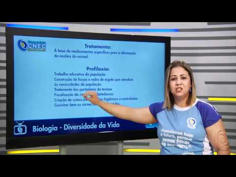 Platelmintos como agentes causadores de doenças