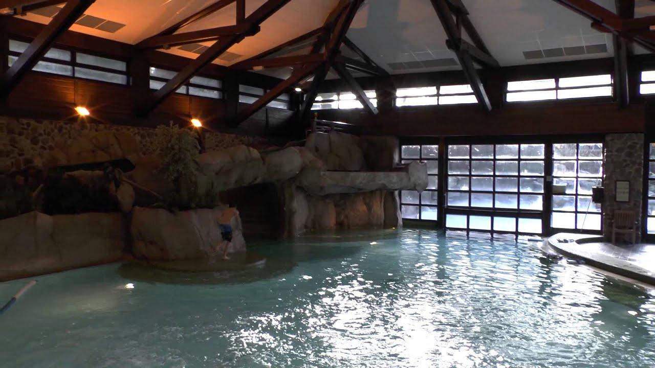 Disneyland Paris Sequoia Lodge Swimming Pool Jan 2014 Watch In Hd Youtube