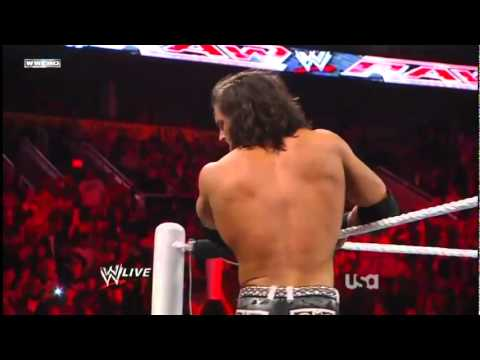 John Morrison  Starship Pain through a Table *HD*