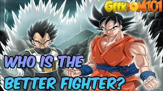 Goku vs Vegeta - Who's the Better Fighter?
