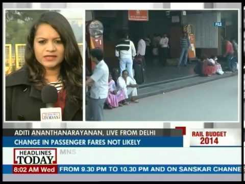 Rail Budget 2014 to focus on better passenger amenities