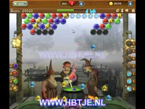 Bubble Witch Saga level 56