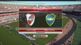 River Boca PES 2014 Relatos Closs Y Niembro El