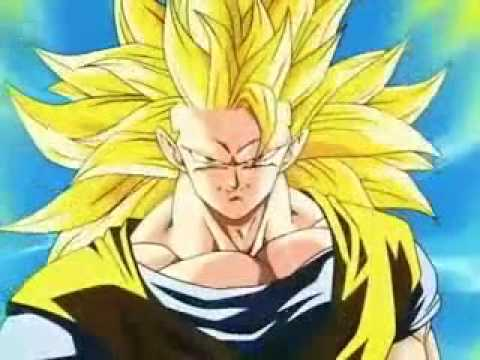 Goku Turns Into Super Saiyan 3, these are the moments i look forward to in DBZ