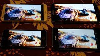 IPhone 5S Vs Samsung Galaxy Note 3 Vs Sony Xperia Z1 Vs LG