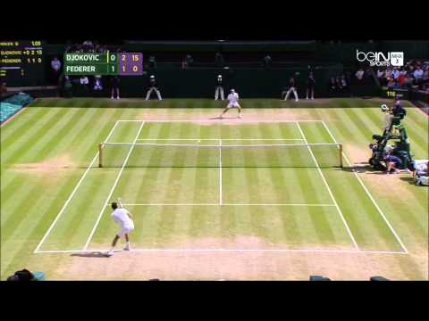 Djokovic VS Federer | Wimbledon 2014 Final