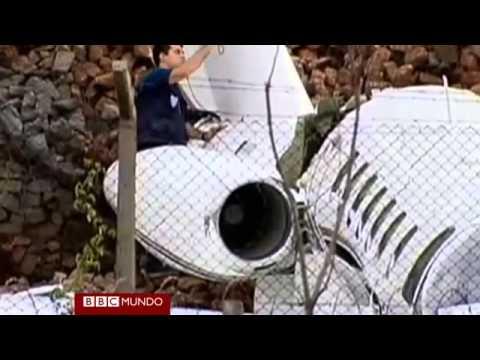 Un accidente aéreo que no acabó en tragedia. Tragedia tras accidente aéreo.