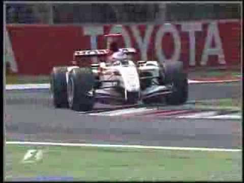 F1 Monza 2004 Q1 - Jenson Button Lap