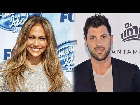 Jennifer Lopez Rebounds with DWTS' Maksim Chmerkovskiy?
