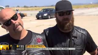 "Test Drive Harley Davidson's ""LiveWire"" Electric"