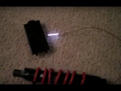 Homemade high voltage transformer