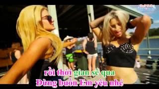 Karaoke HD Anh Nho Em   Melody Remix