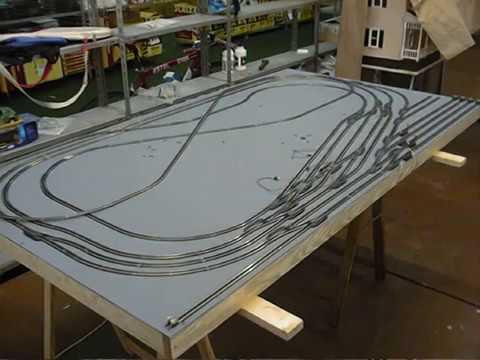 hacer maquetas de tren: