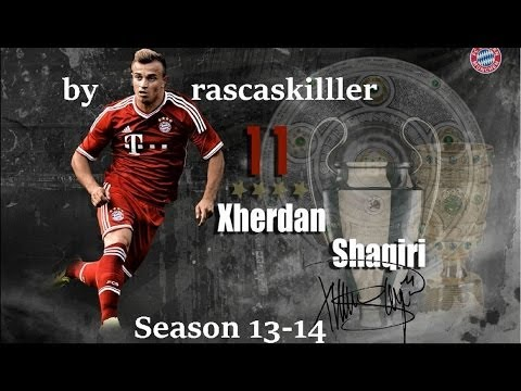 Xherdan Shaqiri | Best Skills & Goals (Season 2014-13) HD