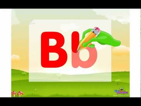 Letter B song, Learn Letter and Sound of Bb