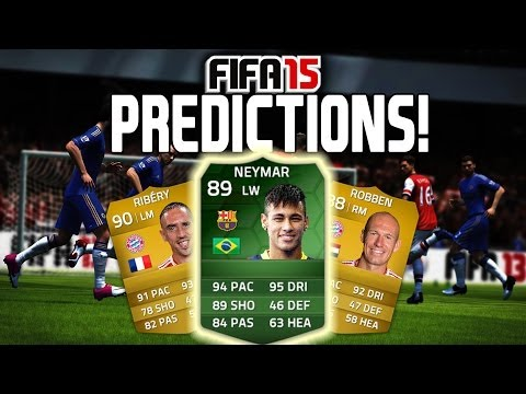 FIFA 15 - NEYMAR (Card Prediction)