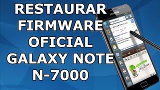 Instalar Android 4.1.2 Oficial En Galaxy Note N7000