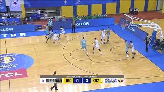 Hightlits of the match Iraq - Kazakhstan (Qualification for the 2019 World Cup)