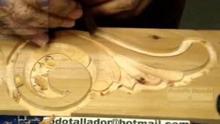 El arte de tallar madera