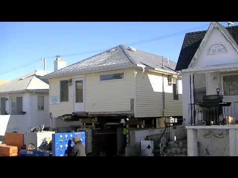 House Lift In Long Beach Ny Youtube