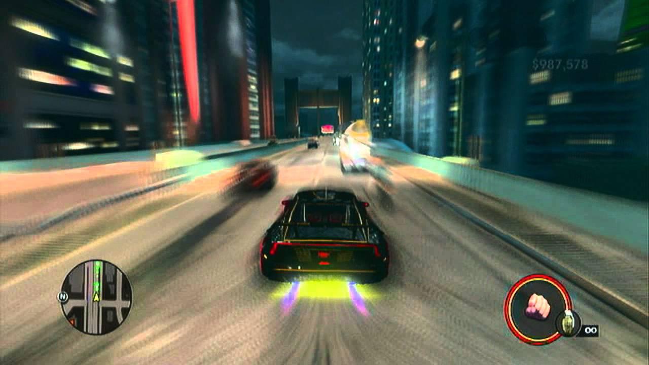 Saints Row 3   Fastest Car - Around Steelport in 2 mins 30 sec ...