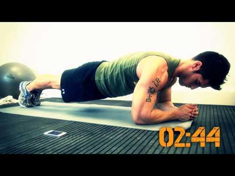 8 minute abs with Jamie Alderton