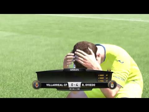 #280 FIFA 17 PS4 Career mode S5E7 // VILLARREAL Vs REAL OVIEDO - Spanish Supercup - Final - 2nd leg