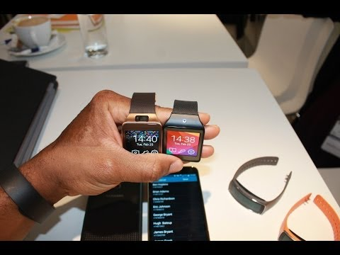Samung Galaxy Gear 2 & Neo Hand-on