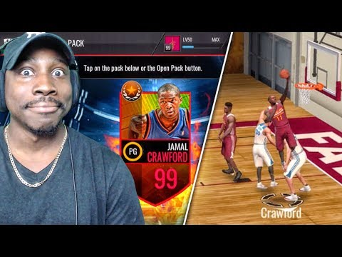 99 OVR JAMAL CRAWFORD & SUMMER LEGEND PACK OPENING! NBA Live Mobile Gameplay Ep. 145