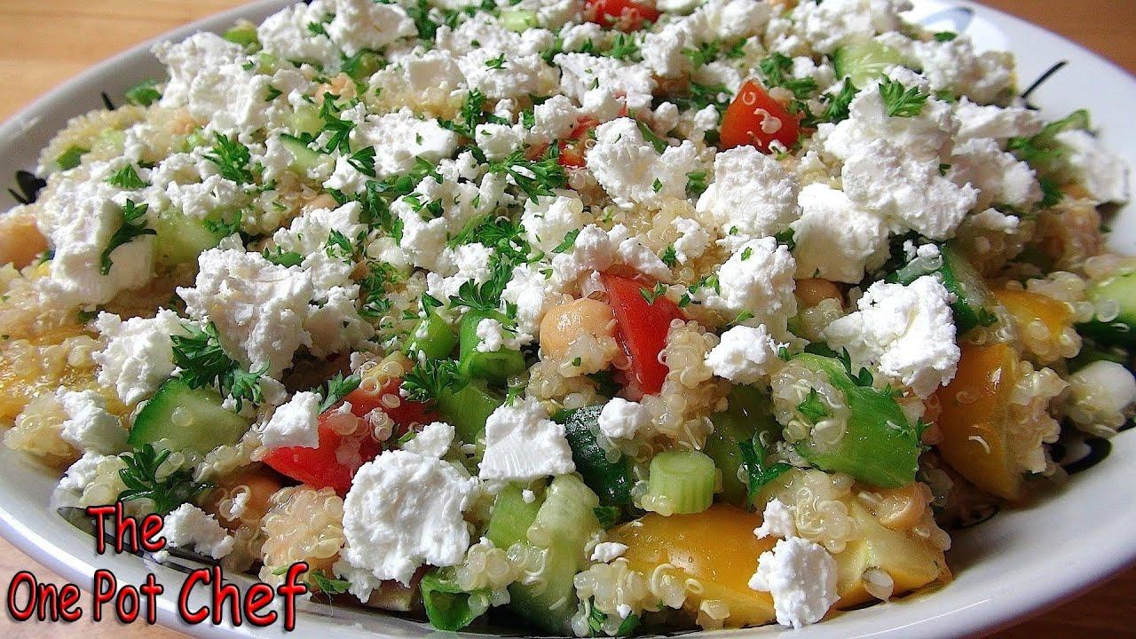 Easy Quinoa Salad - RECIPE - YouTube