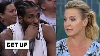 Michelle Beadle goes off on Kawhi Leonard: He is coming off as an 'obnoxious diva' | Get Up! | ESPN