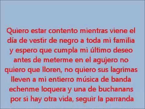Banda Los Recoditos - Mi Último Deseo Lyrics | Musixmatch
