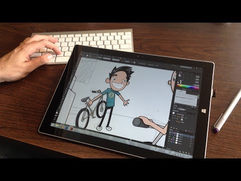 Review of the Surface Pro 3 as a replacement for a Wacom Cintiq