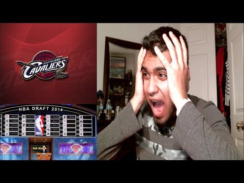 FAN REACTION TO: NBA Lottery 2014! Cleveland Cavaliers NUMBER 1 PICK! WHAT!?