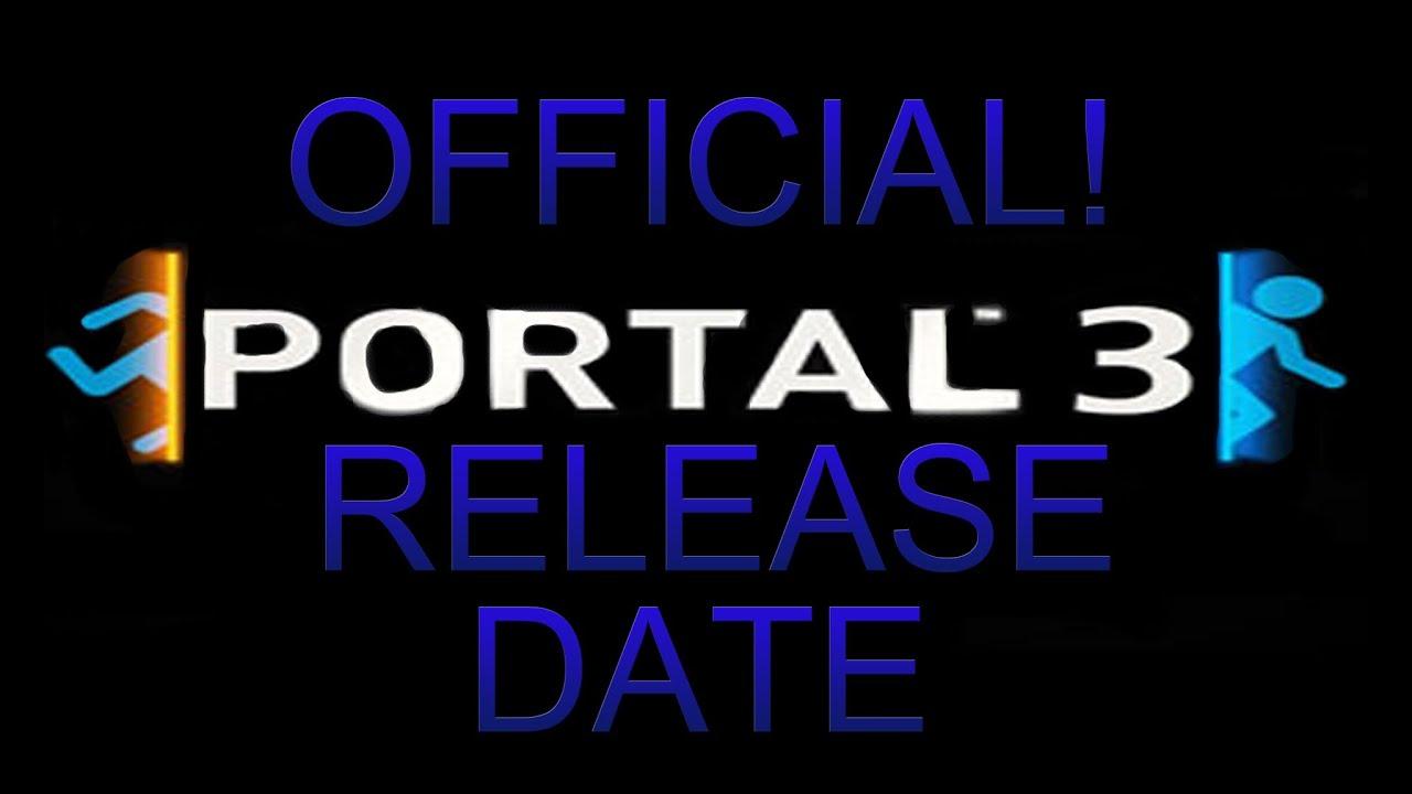 Portal 3 release date