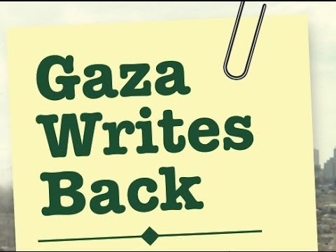 Gaza Writes Back, 10 April 2014, Decatur GA