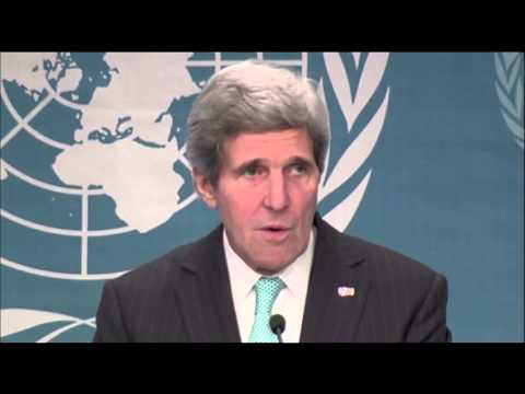 Kerry: Finally, people came together on Syria