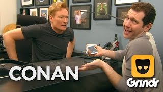 Conan O'Brien Joins Grindr