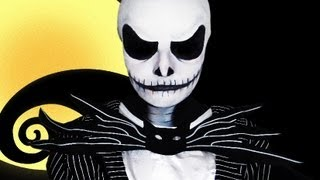 Jack Skellington The Nightmare Before Christmas Makeup