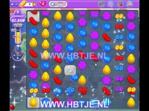 Candy Crush Saga Dreamworld level 58
