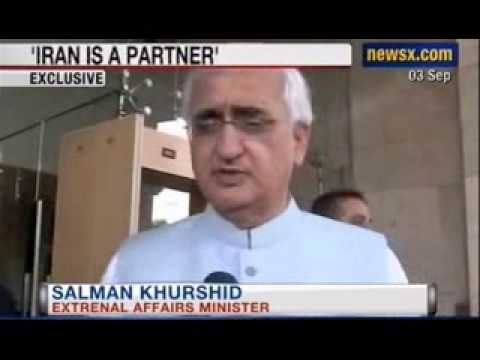 Khurshid to NewsX: India considering buying Oil from Iran