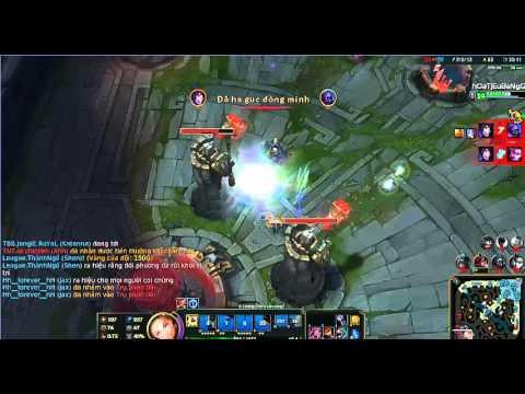 [LMHT] Lux Support gánh team _ hay nhất LOL_cuối trận càng hay