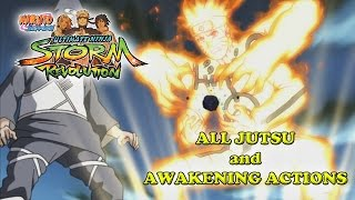 Naruto Shippuden Ultimate Ninja Storm Revolution All Jutsu