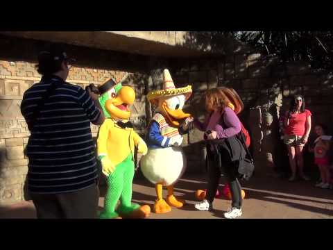 The Three Caballeros  Epcot - Limited Time Magic - Cinco de Mayo 2013