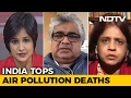 India tops air pollution deaths..
