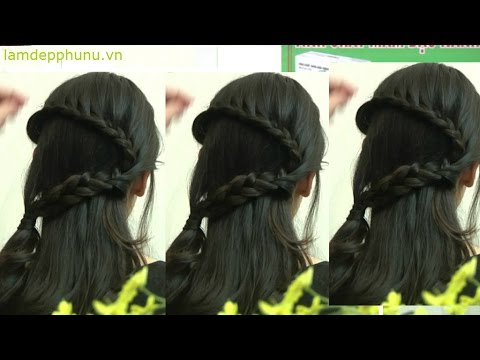 Hướng dẫn tết tóc: Tết hình chữ S