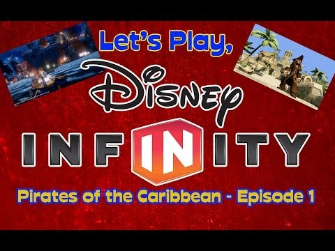 BONUS VIDEO!!! Let's Play Disney Infinity - Pirates of the Caribbean - Episode 1