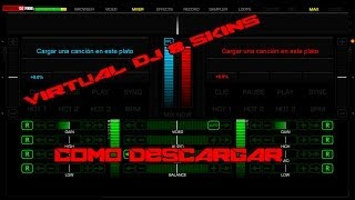 Como Descargar Virtual DJ 8 MultiTouch Skins 2014